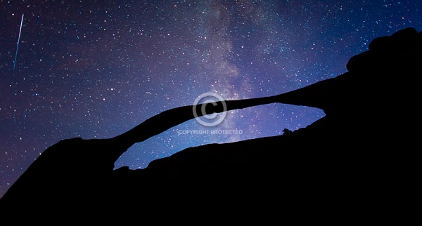 arches national park, autumn, deserts, digital, moab, national parks, night, rock formations, stars, utah, premium, the mikly way, meteors, falling stars, landscape arch, natural arches