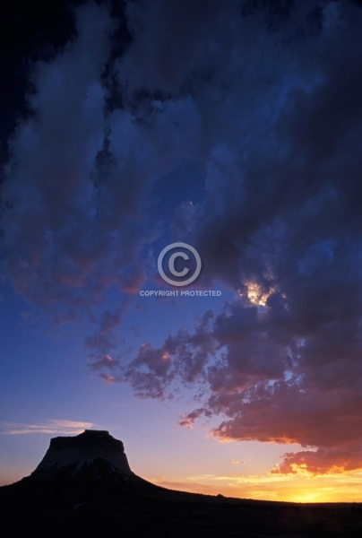 colorado, vertical, summer, clouds, sunsets, pawnee buttes, pawnee national grasslands, eastern plains, featured