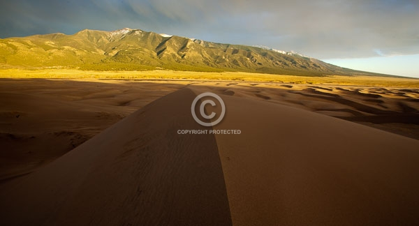 colorado, digital, great sand dunes national park & preerve, horizontal, national parks, sangre de cristo mountains, summer, featured
