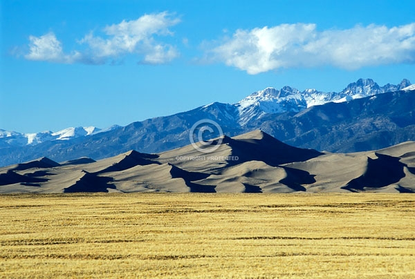 clouds, colorado, great sand dunes national park & preserve, horizontal, national parks, rocky mountains, sangre de cristo mountains, summer, featured