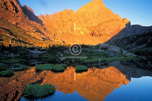 colorado, lakes, ponds, rocky, mountains, peaks, reflections, horizontal, crestone needle, 14000, feet, foot, 14ers, fourteeners, sangre de cristo wilderness, south colony lakes, featured