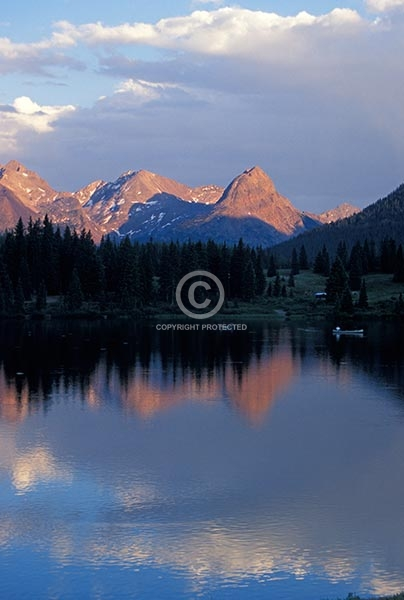 colorado, vertical, lakes, ponds, summer, rocky, san juans, the needles, mountains, grenadier range, molas lake, molas pass, sunsets, reflections, featured