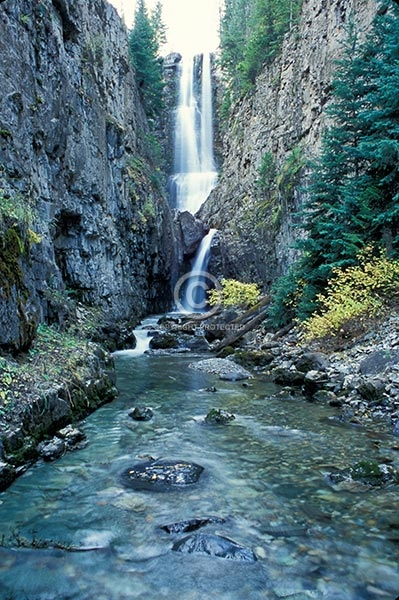 colorado, waterfalls, vertical, autumn, streams, creeks, canyons, mystic falls, san juan mountains, featured