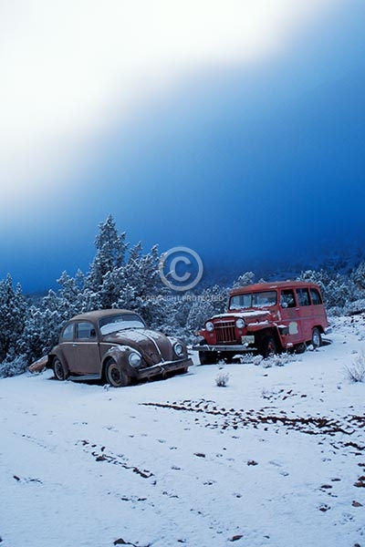 utah, castle valley, vertical, winter, snow, cars, fog, vehicles, automobiles, clouds, featured