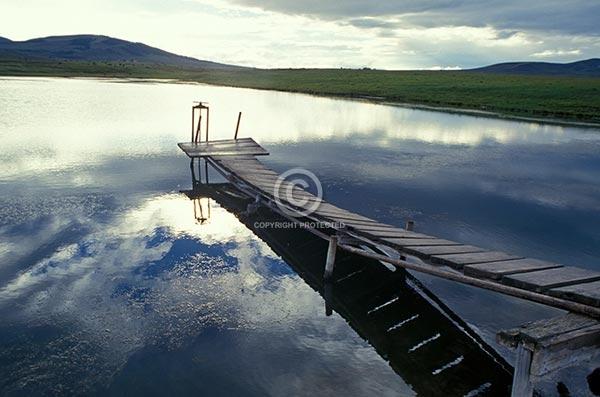 colorado, lakes, kremmling, ponds, wooden, pier, reflections, featured