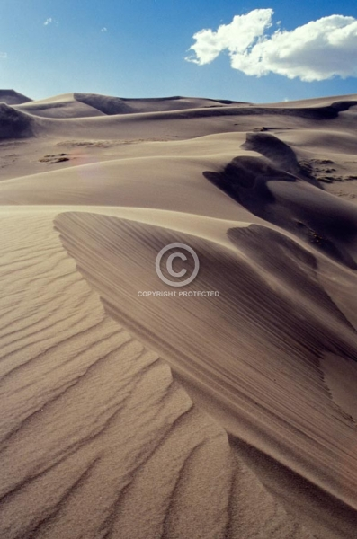 vertical, summer, great sand dunes national park and preserve, colorado, featured